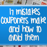 17 Mistakes Couponers Make and How to Avoid Them