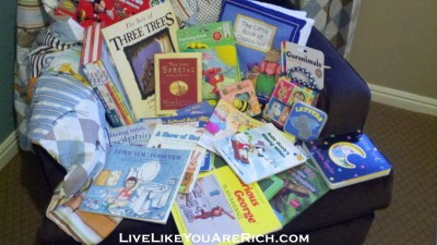 How to Save Thousands on Baby and Kid Books