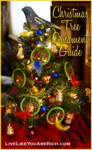 Christmas Tree Ornament Guide