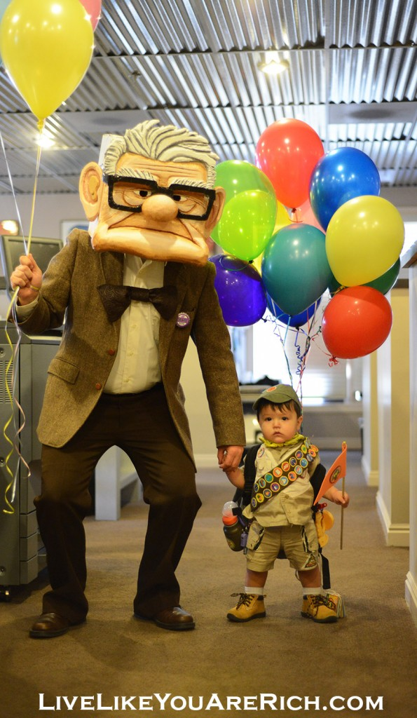 How to Make a Mr. Fredrickson Costume from the Movie UP