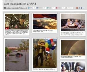 Top Photo of 2013 on Major TV/Radio/Weather Station