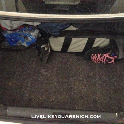 still plenty of room in my trunk