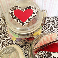 Words of Affirmation Valentine's Jars