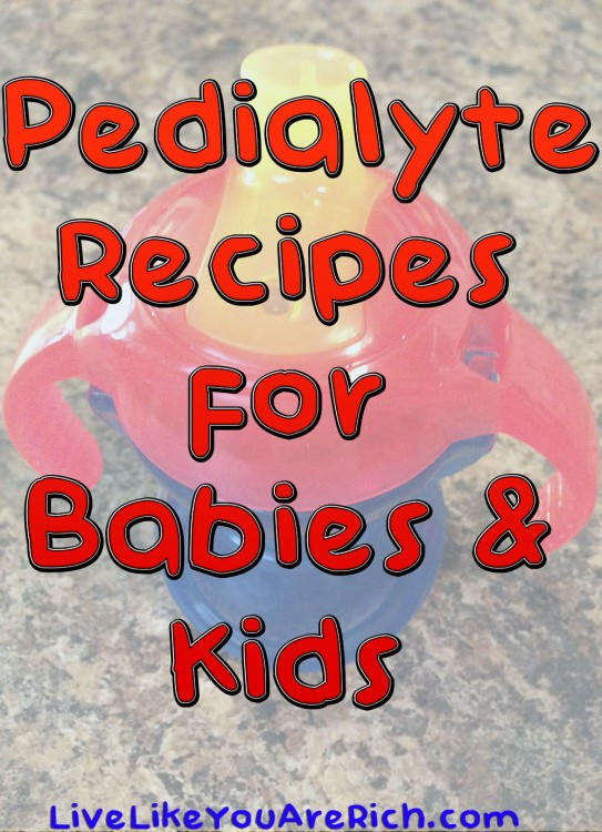 Pedialyte Recipes for Babies & Kids