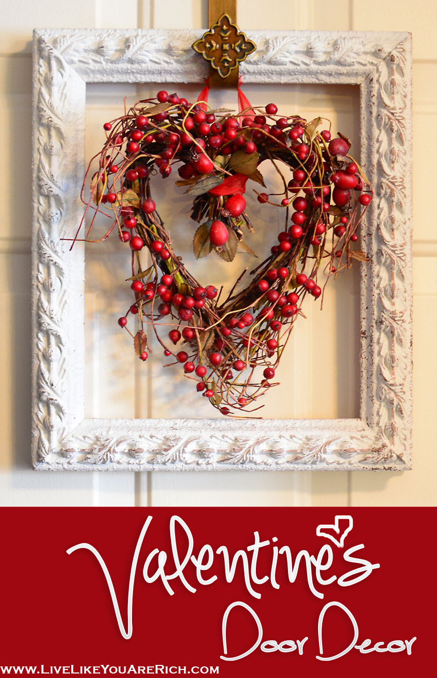 Valentine's Door Decor