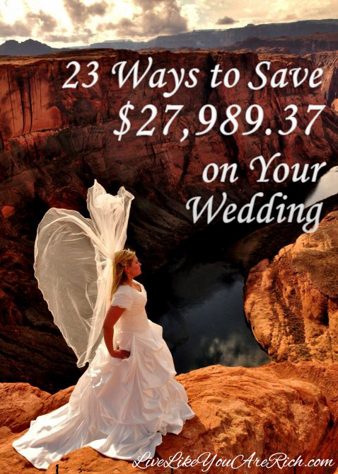 Ways to save over 27k on your wedding