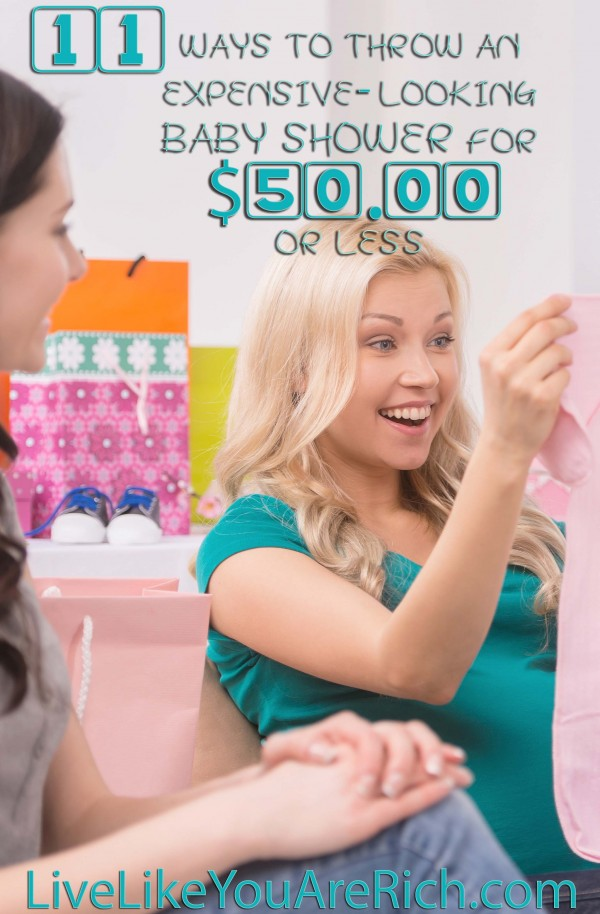 Baby shower how to throw one for under $50.00