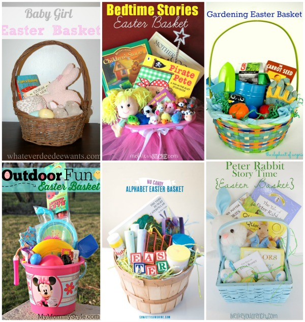 Easter Basket non-candy ideas