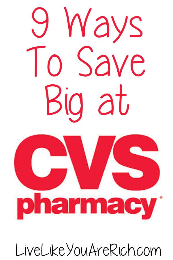 9 Ways to Save Big at CVS