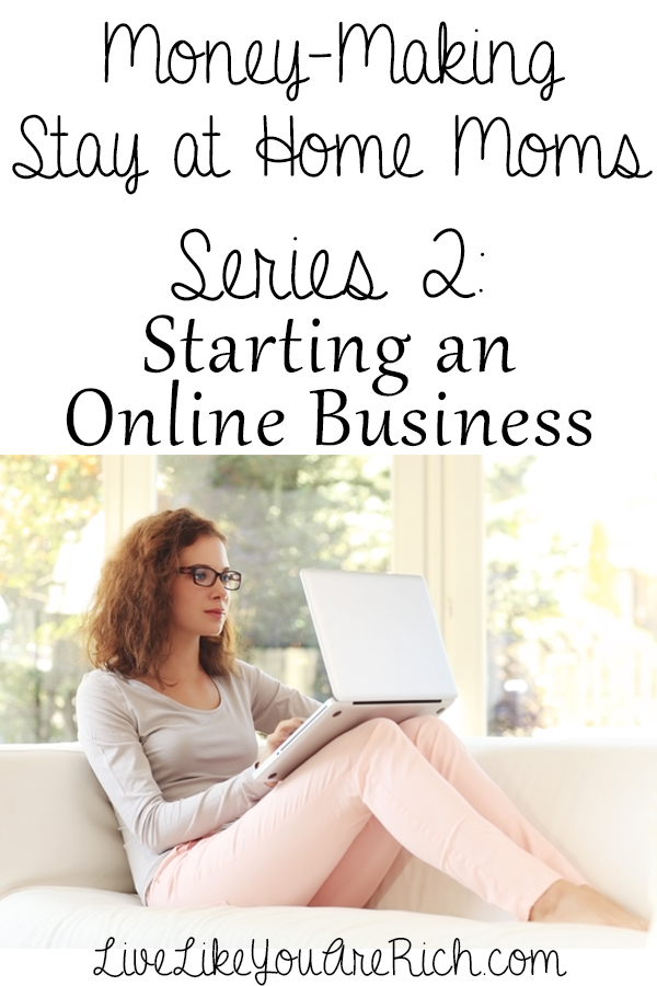 How to Make Money From Home by Starting an Online Business