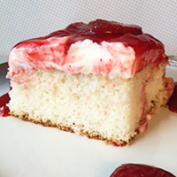 Famous Strawberry Dream Cake