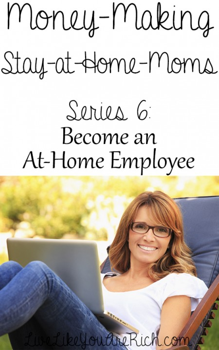 Become an At-Home Employee