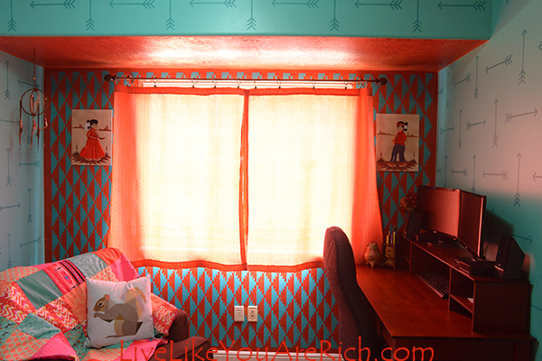 Easy Sew DIY Custom Curtains