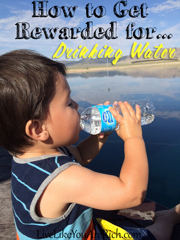 How to Get Rewarded for Drinking Water