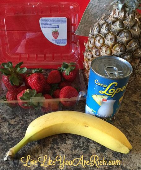 Strawberry Banana Colada Recipe