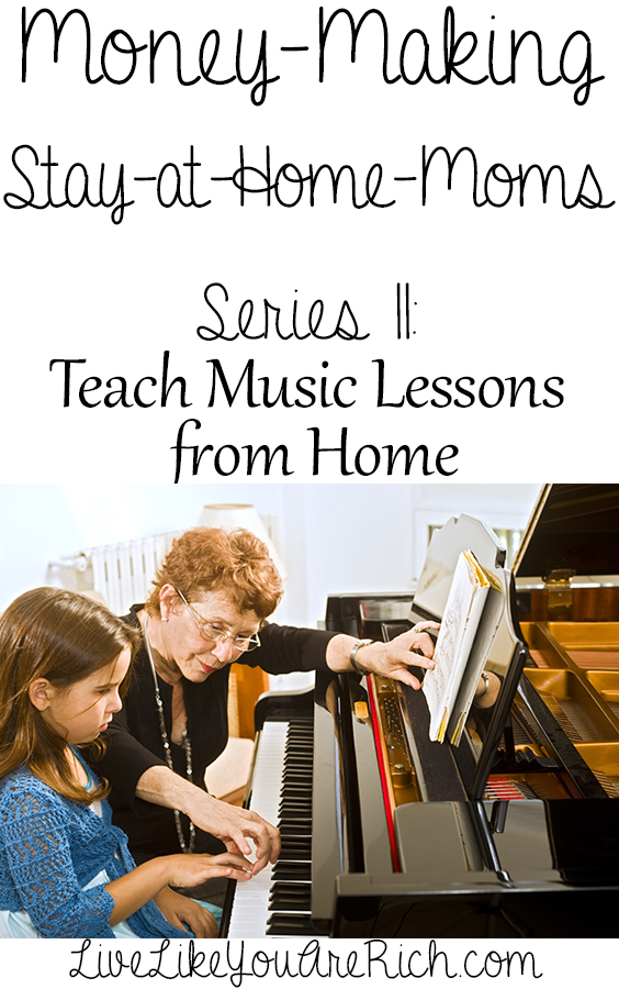 How to Teach Music Lessons from Home