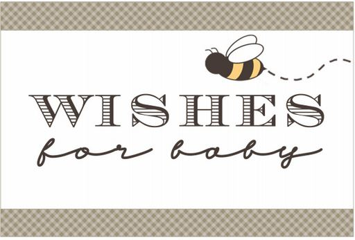 Bee is for Baby- Sign