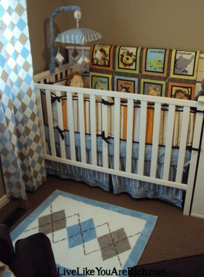 How to Customize, Recover, and/or Reupholster a Crib Bumper Pad
