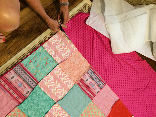 How to Make a Crib or Toddler Blanket