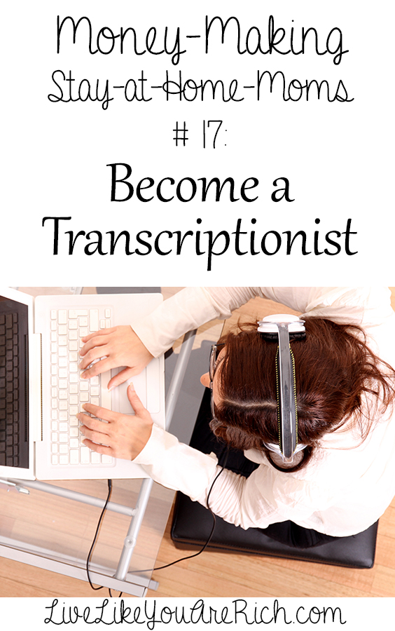 How to Become and Make Money as a Transcriptionist