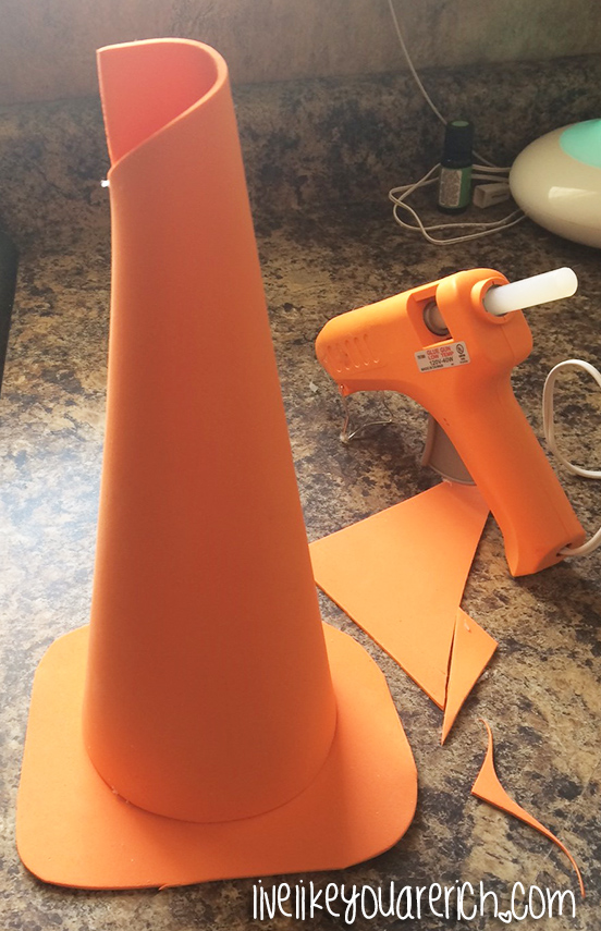 How to Make a Traffic Cone