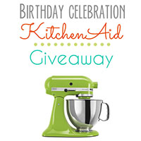 KitchenAid Stand Mixer Giveaway!!