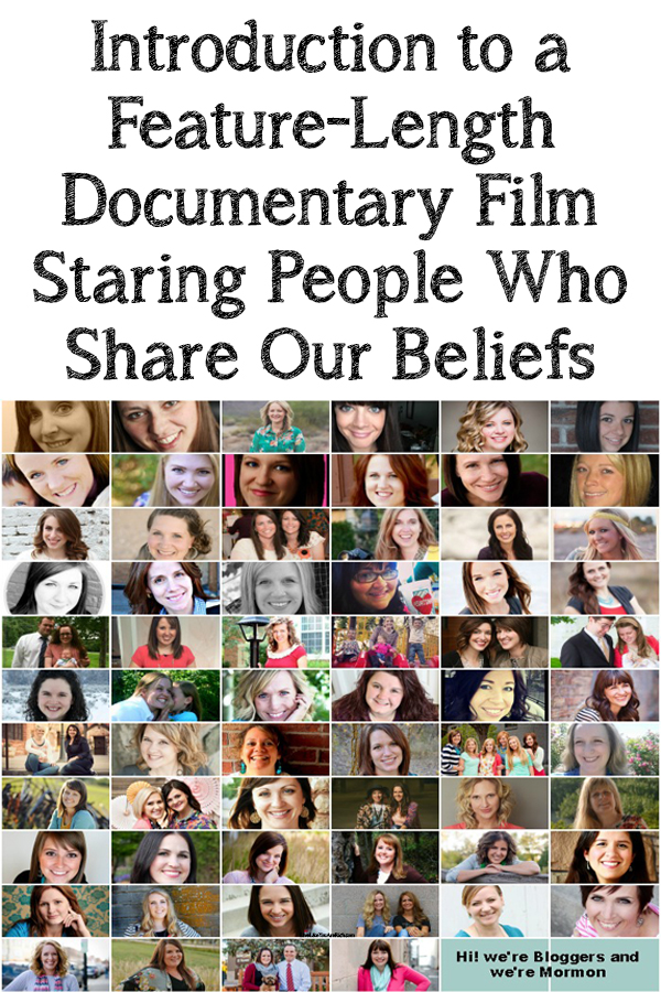Intro to a Feature-Length Documentary Film Staring People Who Share My Beliefs