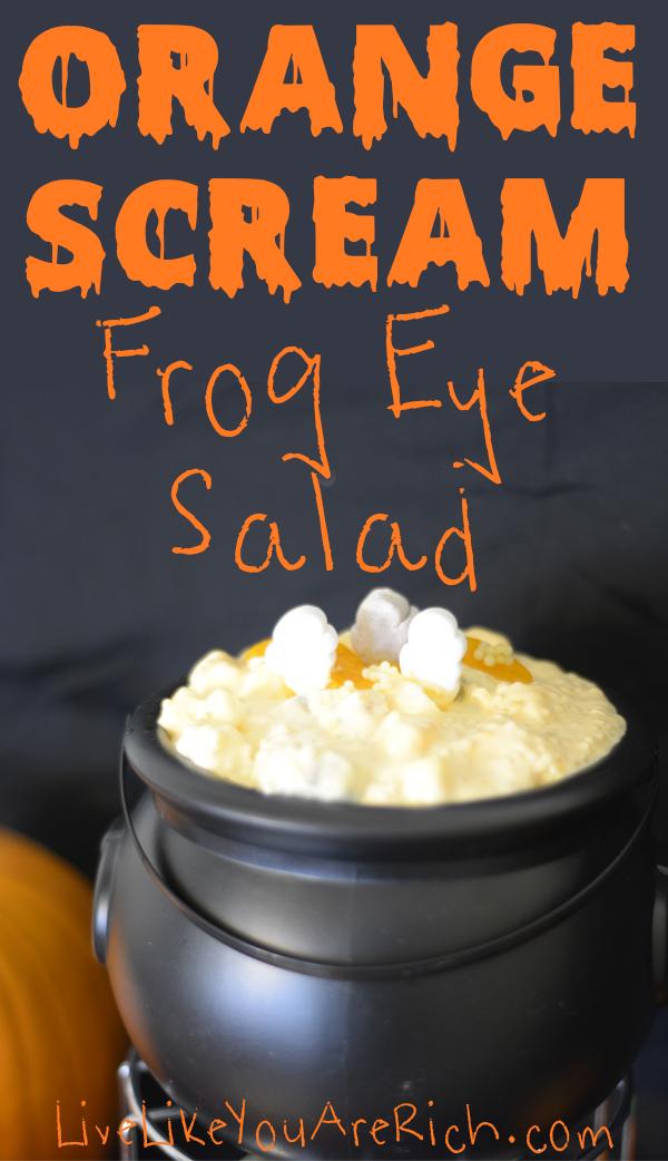 Halloween Frog Eye Salad Recipe