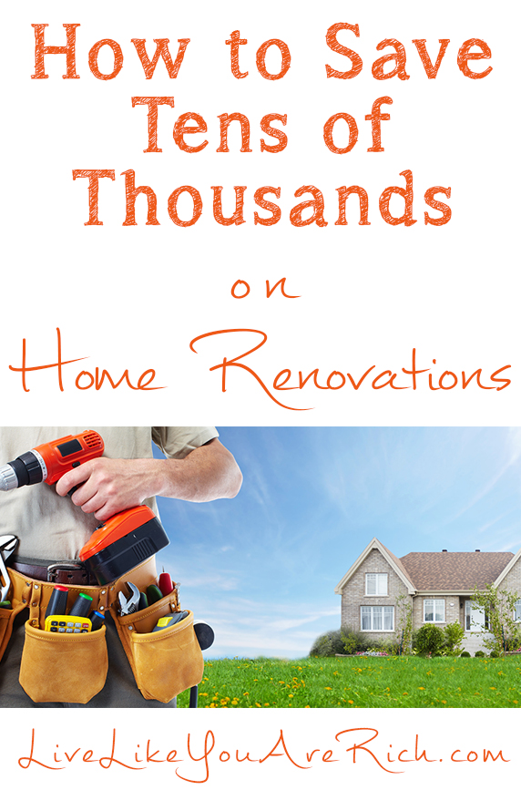 save thousands on home renovations