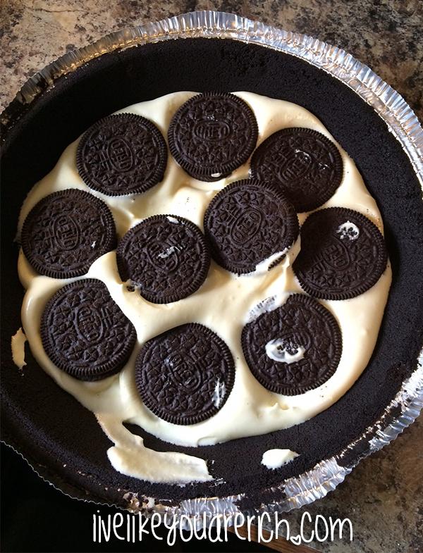 Easy, delicious, and quick Oreo Ice Cream Pie