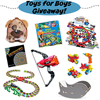 Toys For Boys – Mega Giveaway