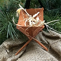 How To Make a Small Wood Manger