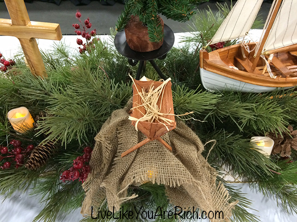 The Tale of Three Trees Christmas Centerpiece