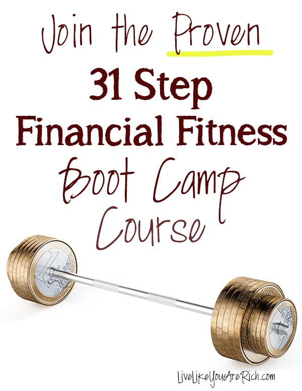 31 Step Financial Fitness Boot Camp Course