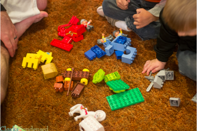 Learn colors using Legos