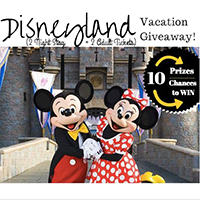 Disneyland Vacation Giveaway