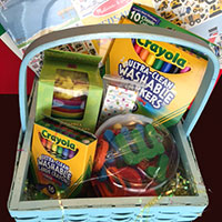 Toddler Education and Activity Inspired Easter Basket