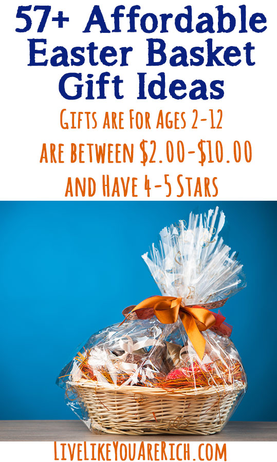 Best-Rated Affordable Kid Gifts and Easter Basket Ideas on Amazon for Under $10.00!