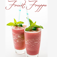 Easy Fruit Frappe Recipe