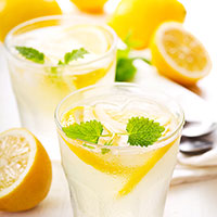Lemonade with Simple Syrup Recipe