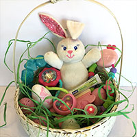 Teething Inspired Easter Basket
