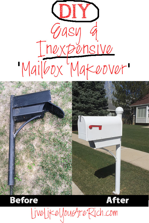 how to paint a mailbox