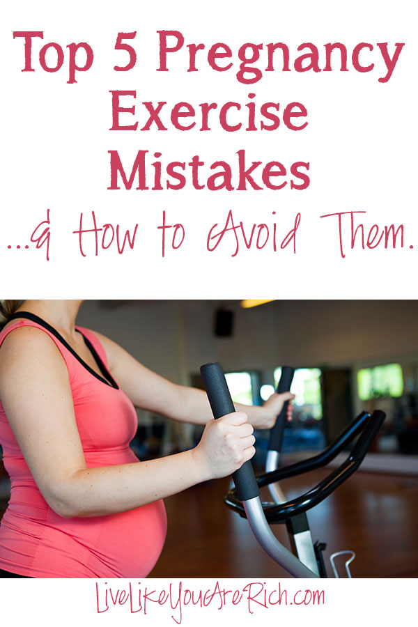 Top 5 Pregnancy Exercise Mistakes and How to Avoid Them