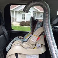 How to Keep Your Baby Cool in Their Rear-Facing Car Seat