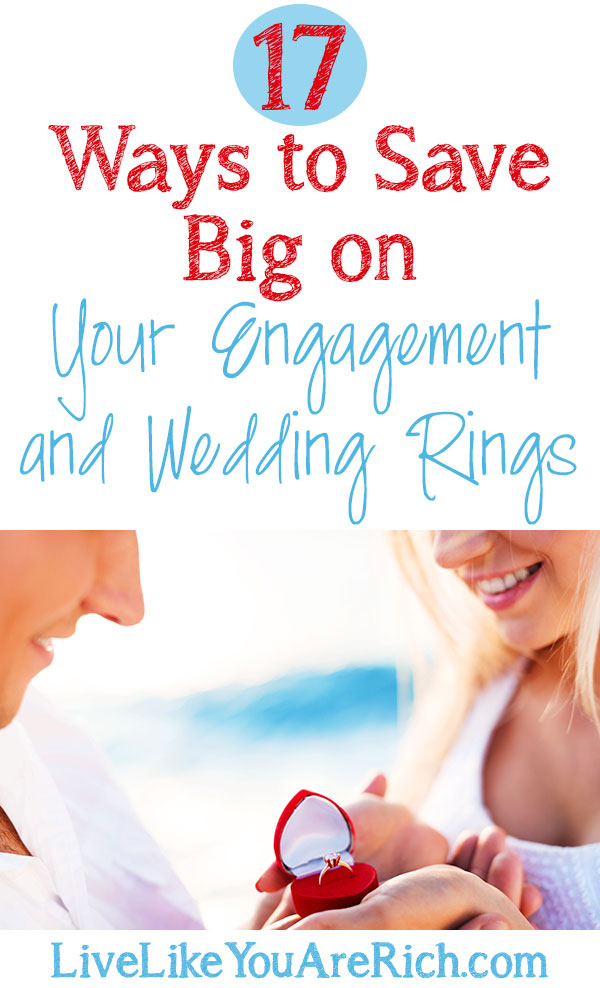 17 Ways to Save Big on Your Engagement and Wedding Rings