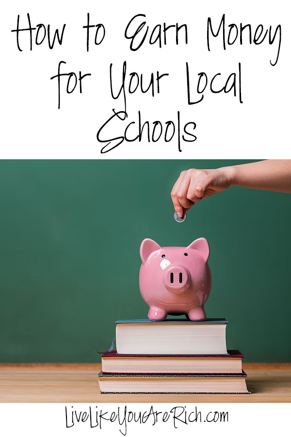 How to Earn Money for Your Local Schools