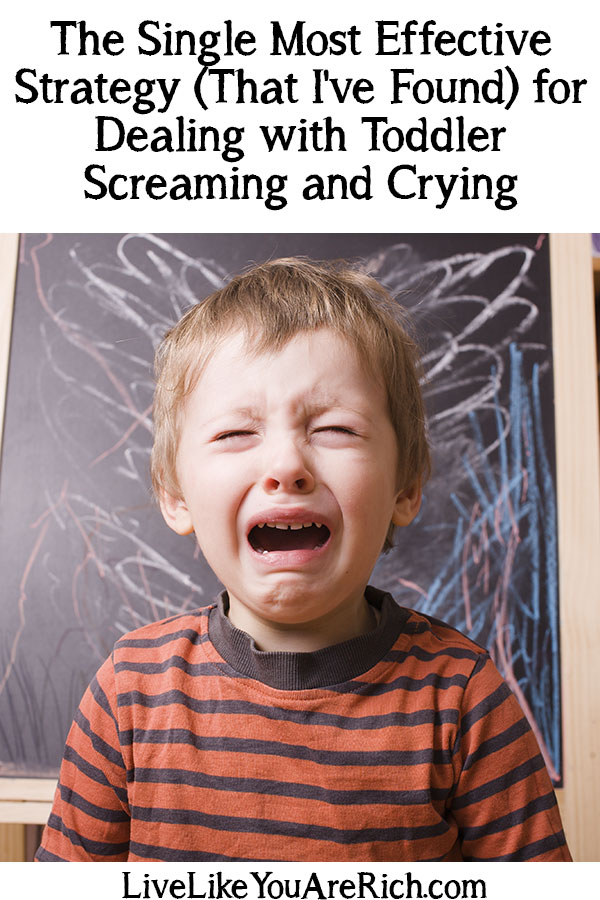 How to Deal with Toddler Screaming and Crying