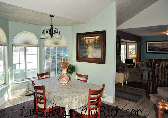How to Paint, Decorate, Furnish, and Light a Dinning Room for Under $200.00