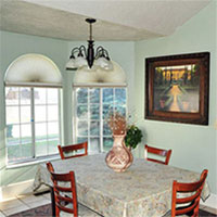 How to Paint, Decorate, Furnish, and Light a Dining Room for Under $200.00