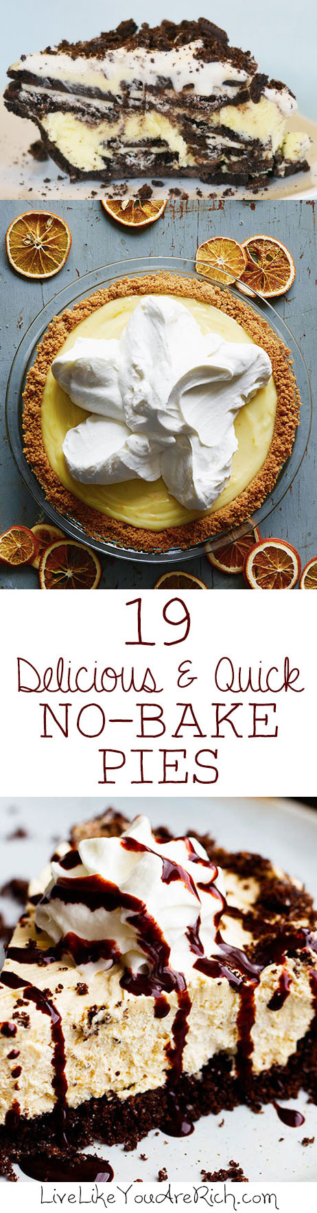 19 Delicious and Quick No-Bake Pies
